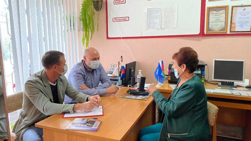 Депутат ГСС Константин Сыпало провёл очередной приём граждан в Чайсовхозе