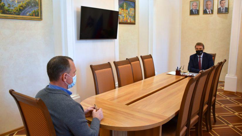 В.П. Филонов провел прием граждан