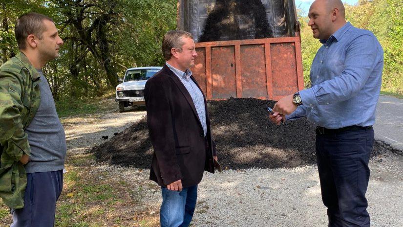 К. Сыпало: В Молдовском и Краснополянском сельских округах мы привели в порядок несколько дорог