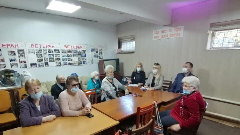 Представители общественности мкр. Донской встретились с депутатами Городского Собрания Сочи