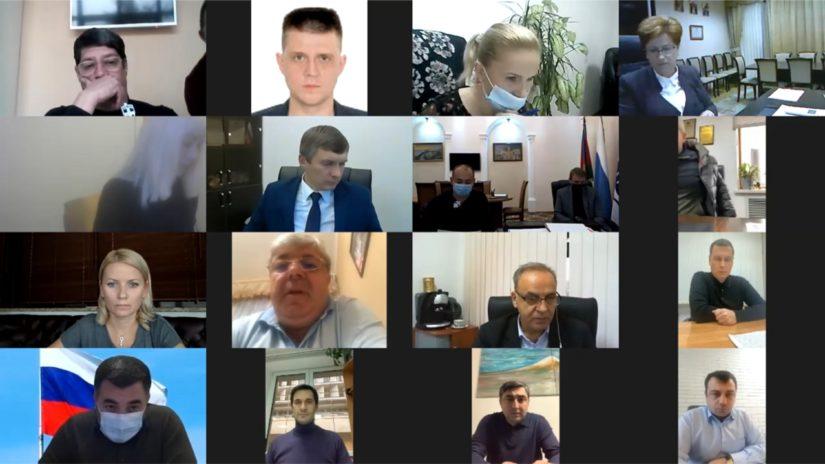 С. Эксузян провел заседание территориальной депутатской группы Лазаревского района