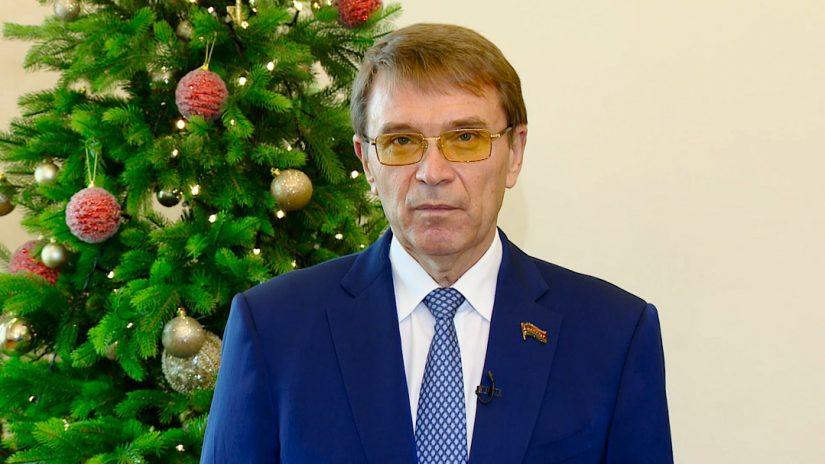 Поздравление председателя Городского Собрания Сочи Виктора Филонова с Новым годом