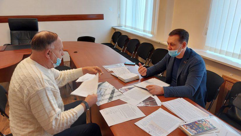 Депутат Павел Афанасьев провел плановый прием граждан