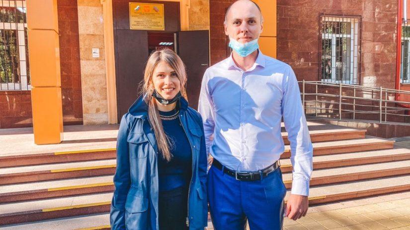 Депутат ГСС А. Невзорова провела рабочую встречу с директором школы № 13 В. Сидоркиным