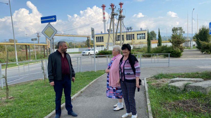 Депутат ГСС С.Г. Мартиросян принял участие в обходе улиц Худякова и Авиационная