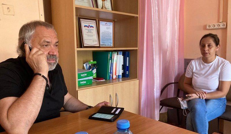 Депутат ГСС С. Шевелев провел плановый приём граждан в с. Весёлое