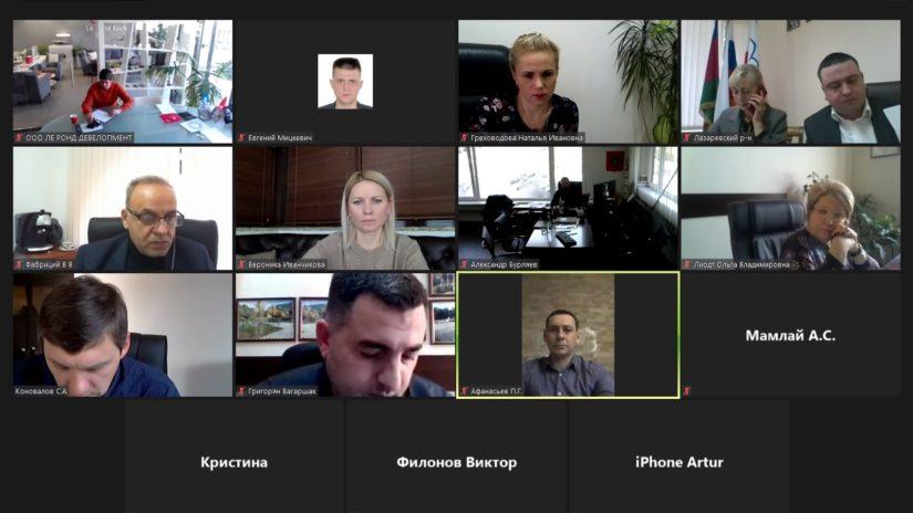Сергей Эксузян провел заседание территориальной депутатской группы Лазаревского района