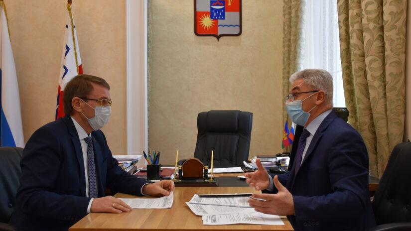 Виктор Филонов встретился с председателем «Адыгэ Хасэ» Маджидом Чачух