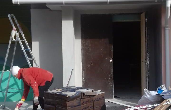 Ремонт  в здании детского сада № 34 близится к завершению