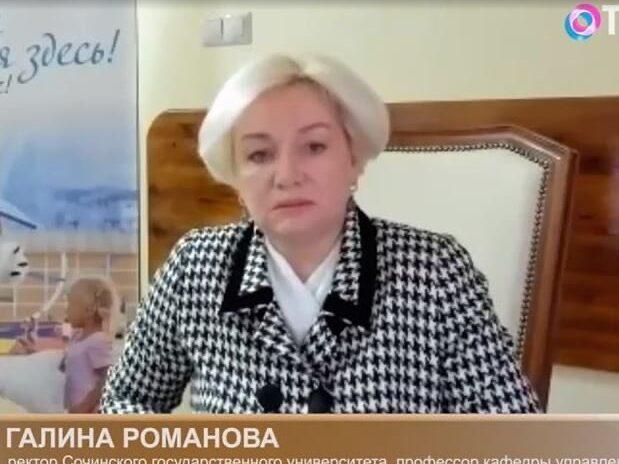 Депутат Галина Романова приняла участие в съемках аналитической телепрограммы «Дом Э» на ОТР.