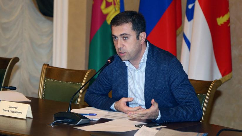 Заместитель председателя ГCC Т. Эйнатов провел заседание бюджетного комитета