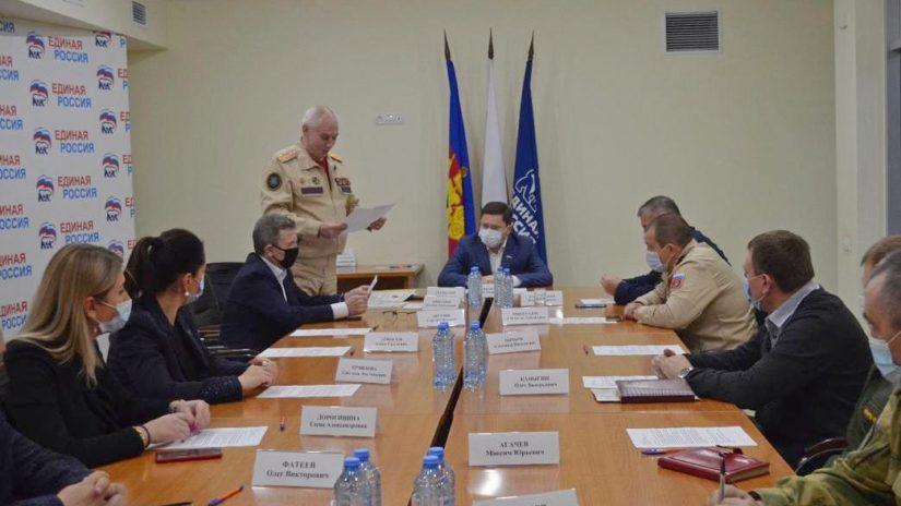 Депутаты-единороссы стали членами попечительского совета движения «ЮнАрмия» г. Сочи