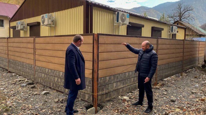 Депутат Константин Сыпало  проинспектировал строительство ФАПа в п. Кепша