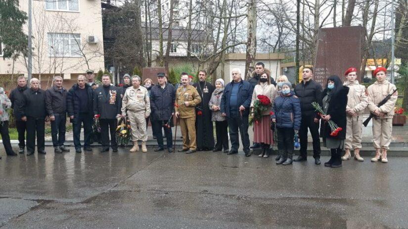 Депутаты Городского Собрания возложили цветы в день памяти годовщины вывода войск из Афганистана
