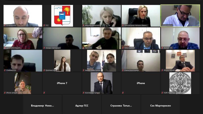 Депутаты приняли участие в заседании терр.группы Адлерского района