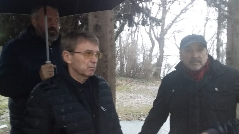 Виктор Филонов, Павел Афанасьев и Александр Бурляев встретились с жителями Лазаревского района