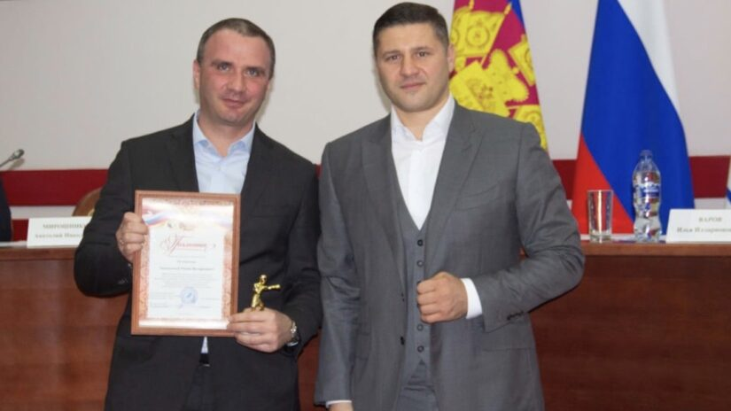 Депутат Роман Кирюшин принял участие в работе Федерации бокса