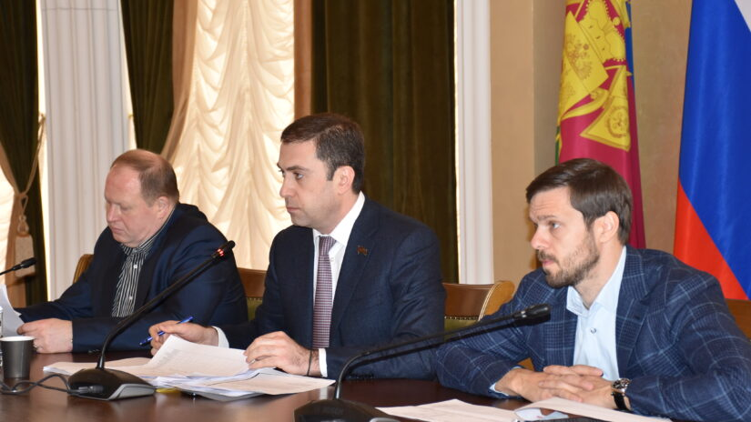 В Городском Собрании Сочи прошел комитет по финансово-бюджетной, налоговой и экономической политике и стратегическому развитию