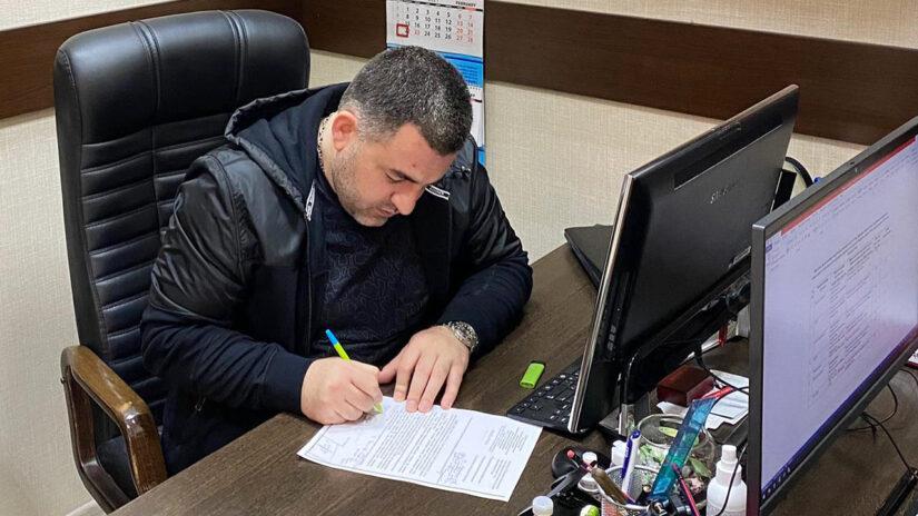 Прием граждан депутатом Вагаршаком Григоряном