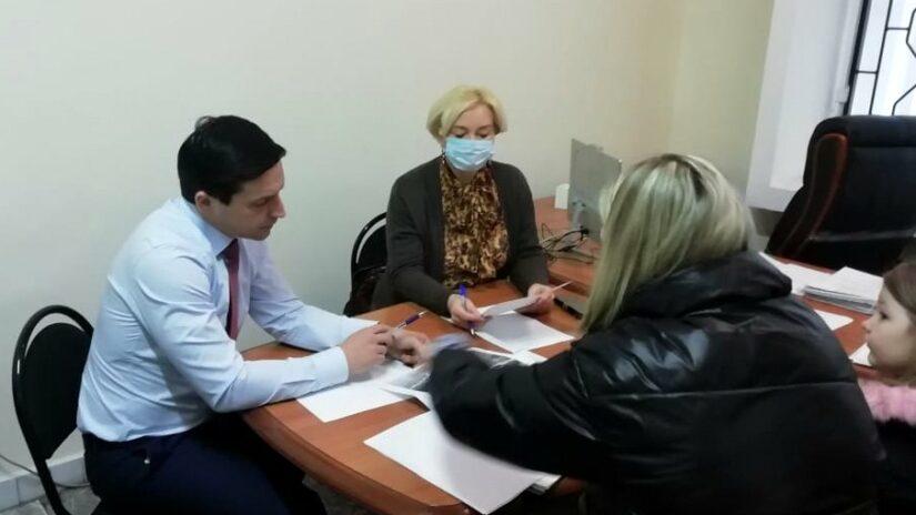 Встреча депутатов округа «Гагаринский» с жителями района