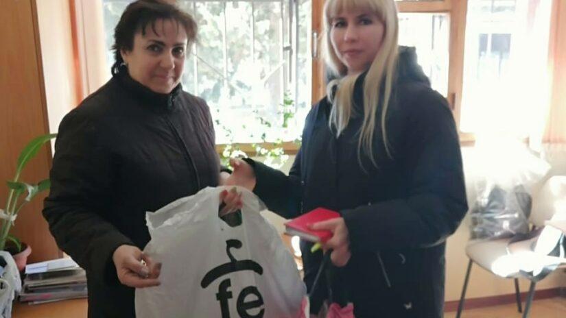 Депутат Инна Мысина продолжает оказывать помощь пострадавшим от пожара