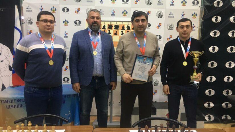 Команда Городского Собрания Сочи выиграла шахматный турнир