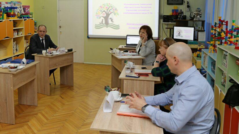Эдуард Обухович провел заседание Попечительского совета муниципального детского сада № 34 г. Сочи