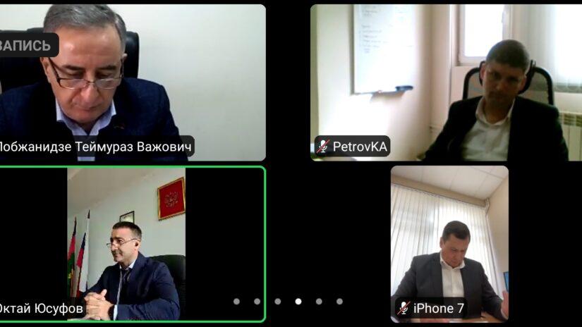 В ГСС прошло заседание территориальной депутатской группы Хостинского района