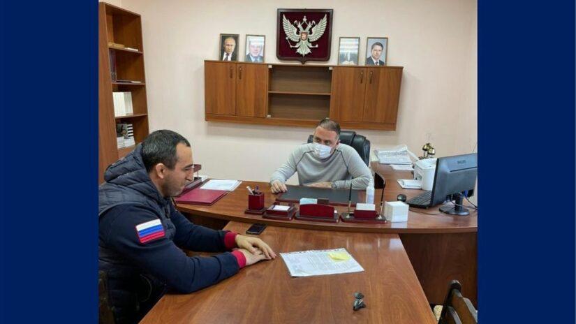 Депутат Амаяк Давыдов провел прием граждан