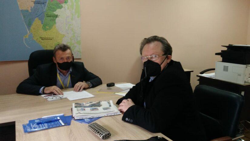 Работа в округе: Депутат ГСС Геннадий Глазырин провел очередной прием граждан