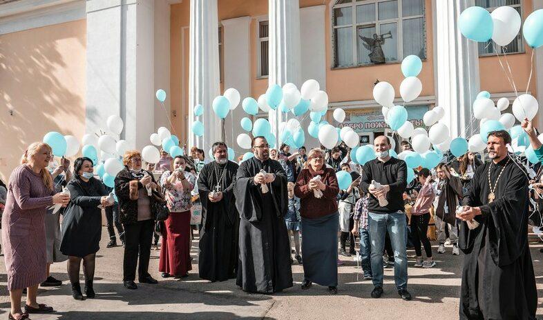 Депутат Сергей Эксузян помог провести Благовещенский фестиваль для особенных детей