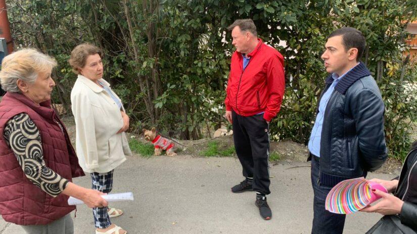 Встреча с жителями ул. Загородной