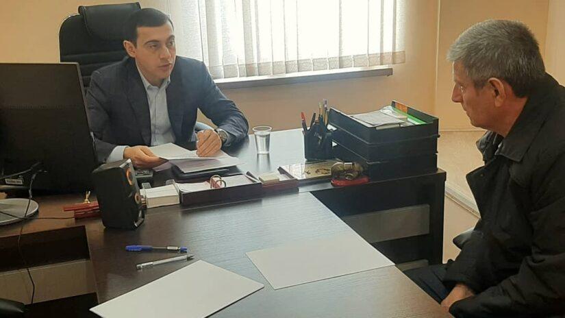 Депутат Владимир Торосян провел плановый прием граждан по личным вопросам