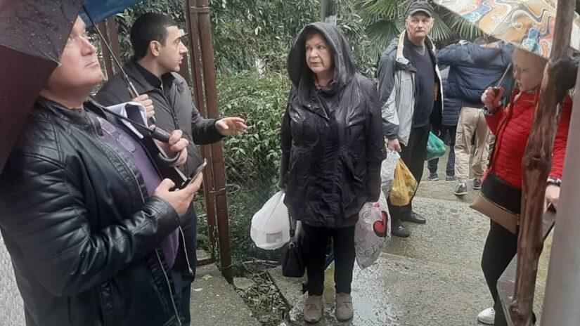 Освещение улиц округа «Новосочинский» на контроле у депутата Владимира Торосяна