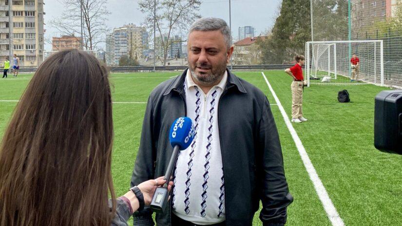 Депутат ГСС Сос Мартиросян организовал фестиваль по футболу среди юнармейцев города Сочи