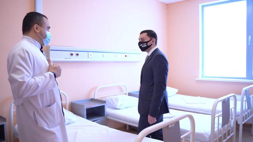 Помощь больнице от депутатов Завокзального округа