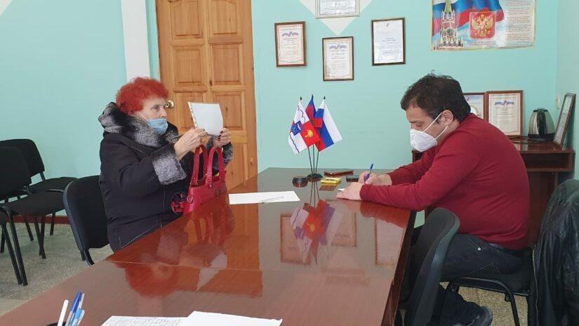 Депутат Городского Собрания Сочи Родион Цырульник провел очередной прием граждан