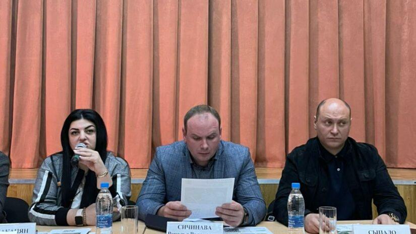 В Адлерском районе прошла встреча с активистами Молдовского сельского округа и Краснополянского поселкового округа