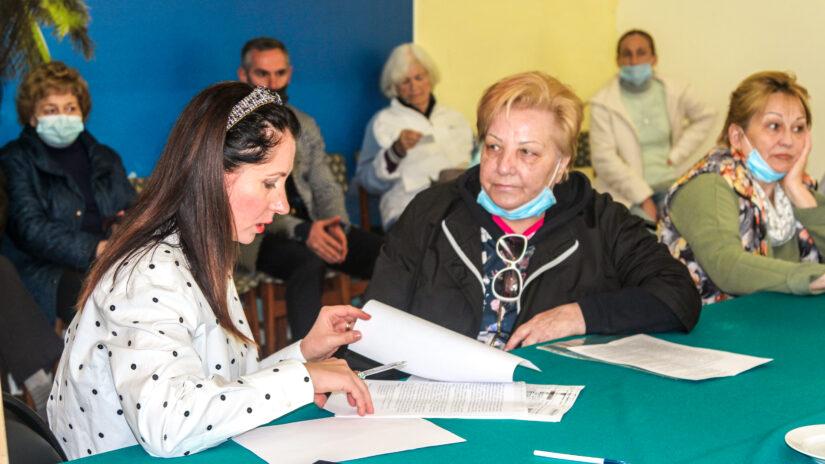 Депутат Светлана Ермилова провела очередной прием граждан в ТОС «Светлана»