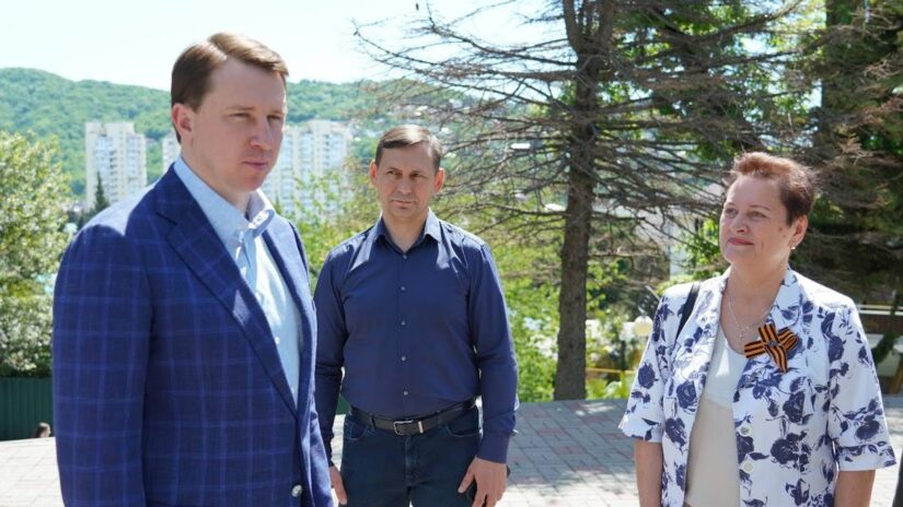 Депутат Павел Афанасьев принял участие в рабочем объезде Главы Сочи Алексея Копайгородского Лазаревского района города