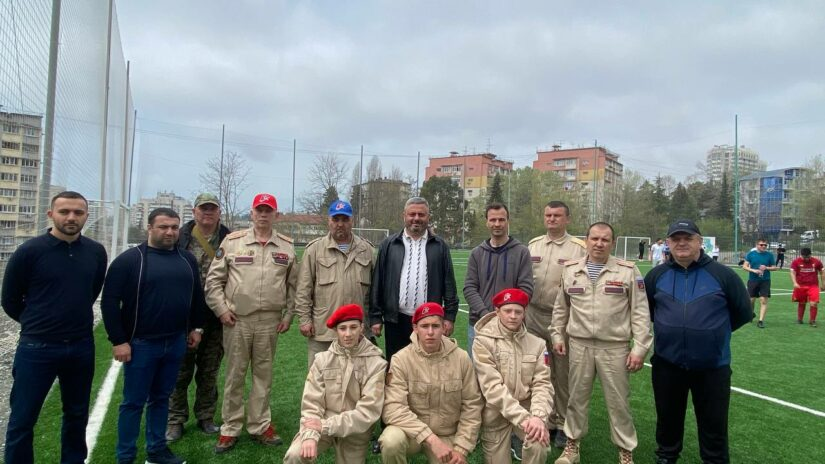 Благодарность депутату Сосу Мартиросяну за организацию турниров