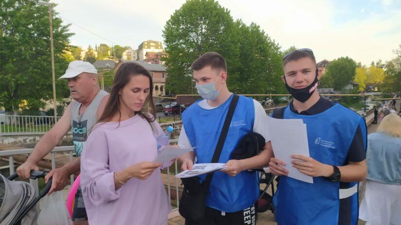 Эдуард Обухович призывает проголосовать за общественную территорию
