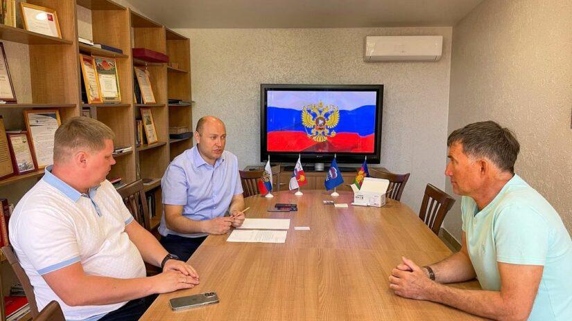 Депутат Городского Собрания Сочи Константин Сыпало провел очередной приём граждан в селе Молдовка