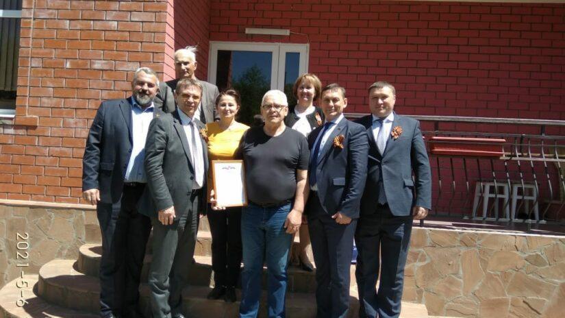 Депутаты Горсобрания и глава администрации Лазаревского района  поздравили с юбилеем Хамеда Харту