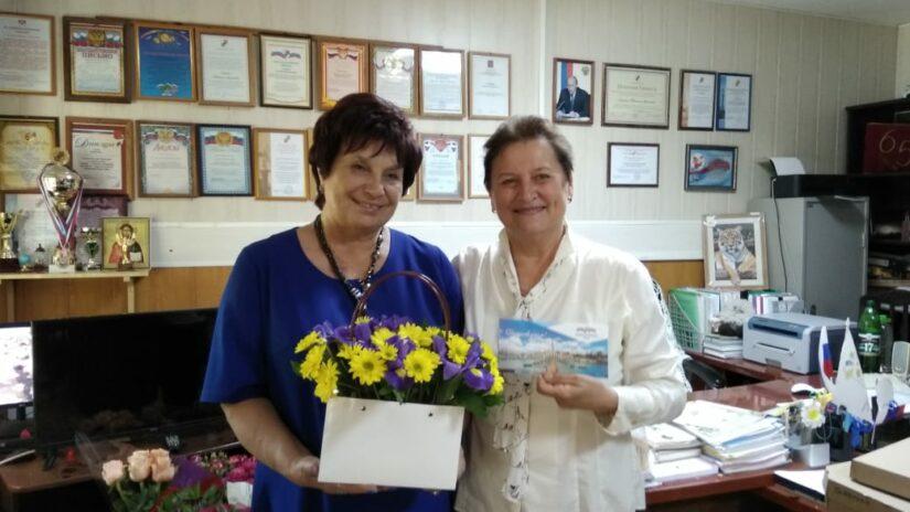 Виктор Филонов направил  поздравление с юбилеем Татьяне Алейник