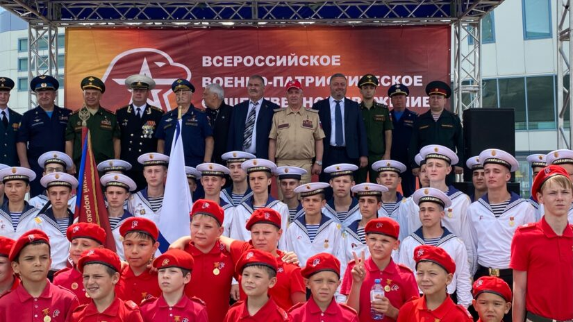 Городской юнармейский военно-спортивный фестиваль в честь 5-ой годовщины создания движения «Юнармия» прошел в Сочи