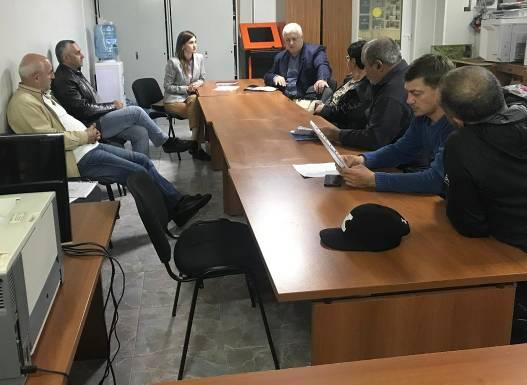 В Дагомысском избирательном округе прошла встреча с членами ТОСов по вопросам водоснабжения и водоотведения
