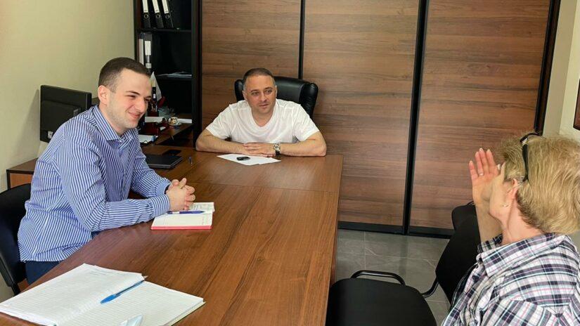 Депутат Амаяк Давыдов провел очередной прием граждан по личным вопросам