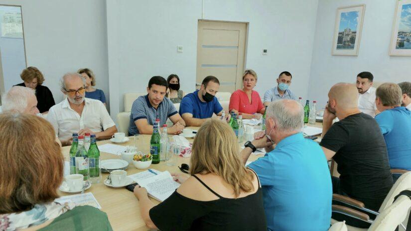 Председатель Совета молодых депутатов при ГСС Андрей Василенко принял участие в заседании Градостроительного совета при Главе Сочи