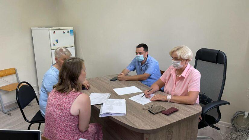 Прием граждан в Гагаринском округе